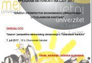 """Okrugli sto"""" Izazovi i perspektive ekonomskog obrazovanja u Tuzlanskom kantonu"""""""